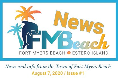 First edition of FMBeach News August 7, 2020