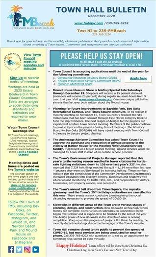 Town Hall Bulletin