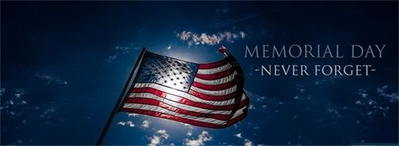 Town Hall CLOSED in Observance of MEMORIAL Day