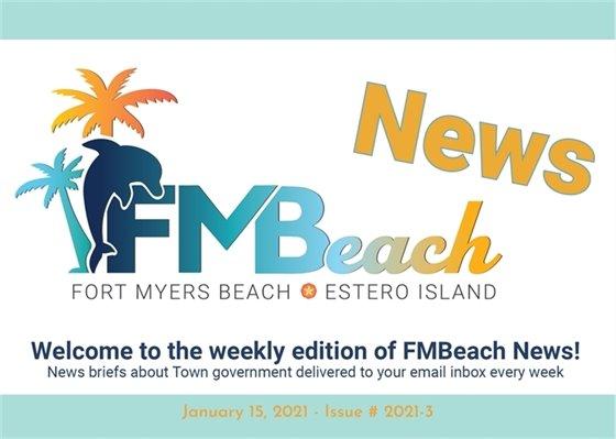 FMBeach News header for the January 15, 2021