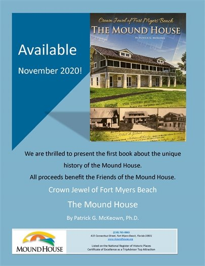 New books about the Mound House are available now at the Museum Store