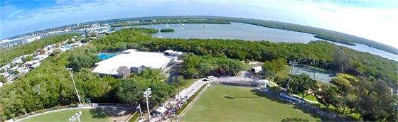 Aerial photo of Bay Oaks