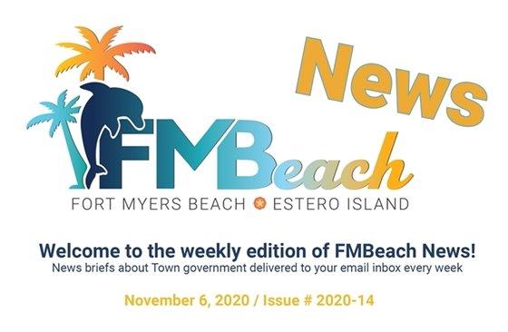 Header for FMBeach News The November 6, 20202 edition