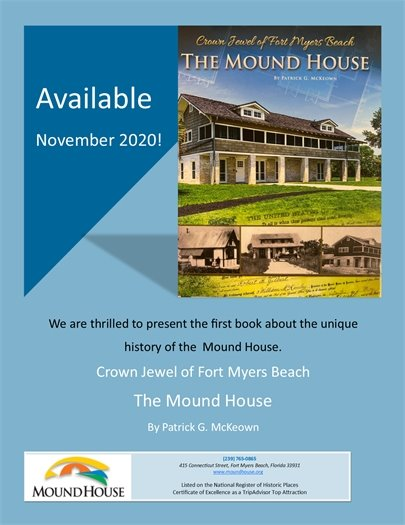 Mound House book available at the museum store