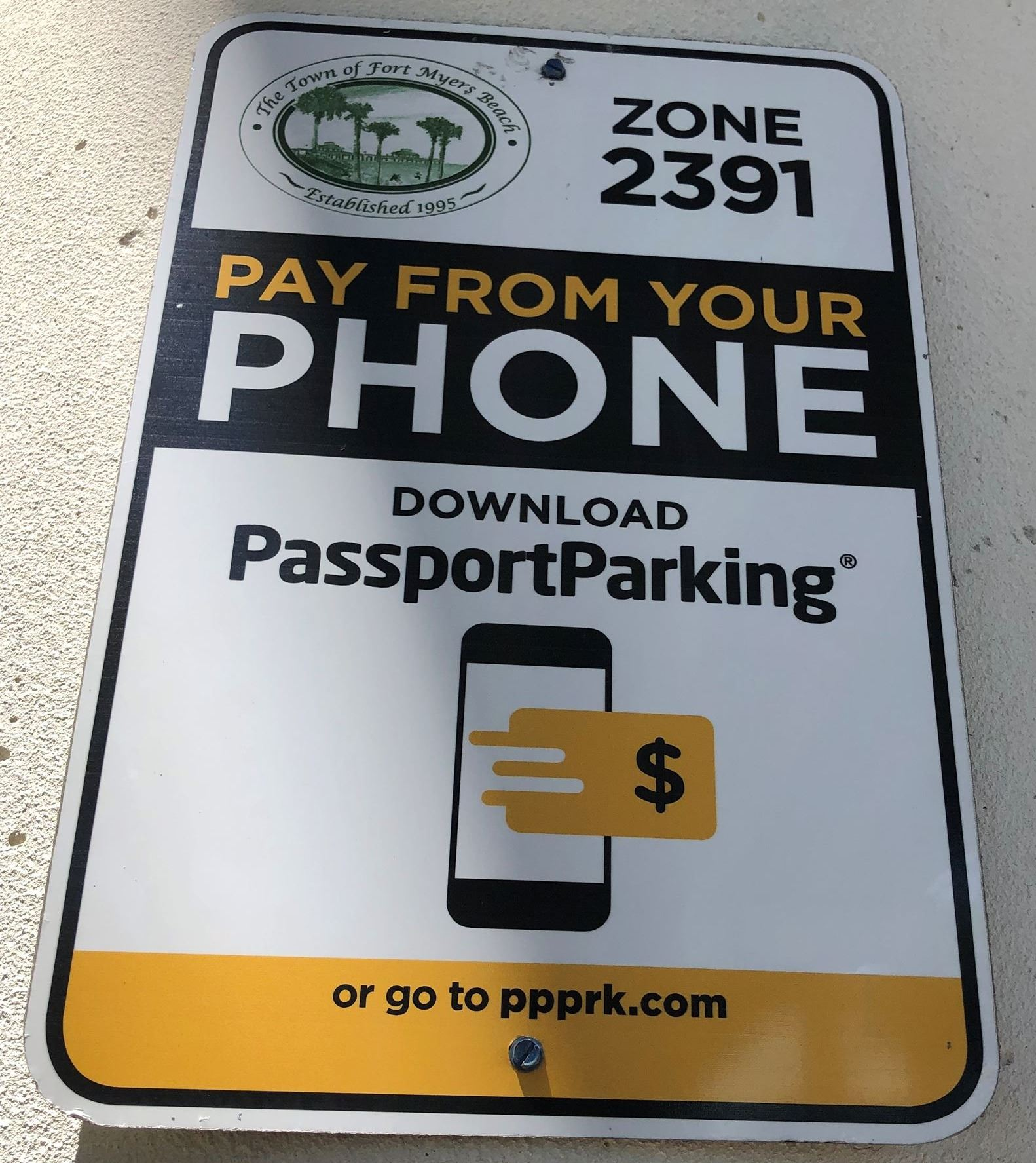passpaort parking signs matanzas