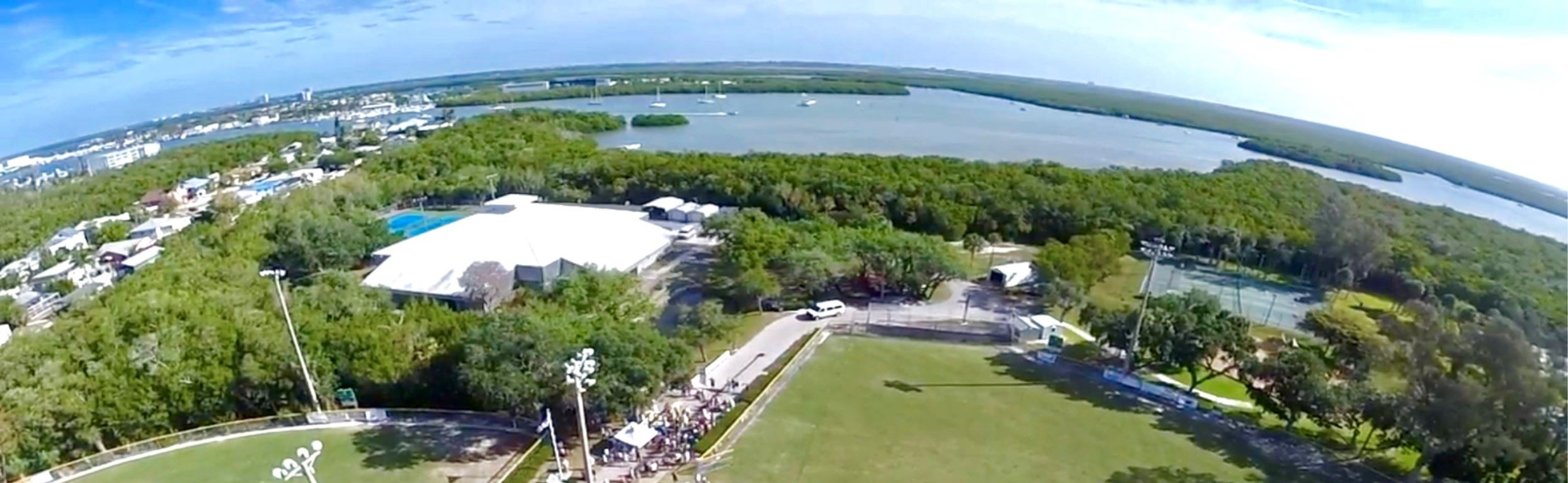 Aerial of Bay Oaks