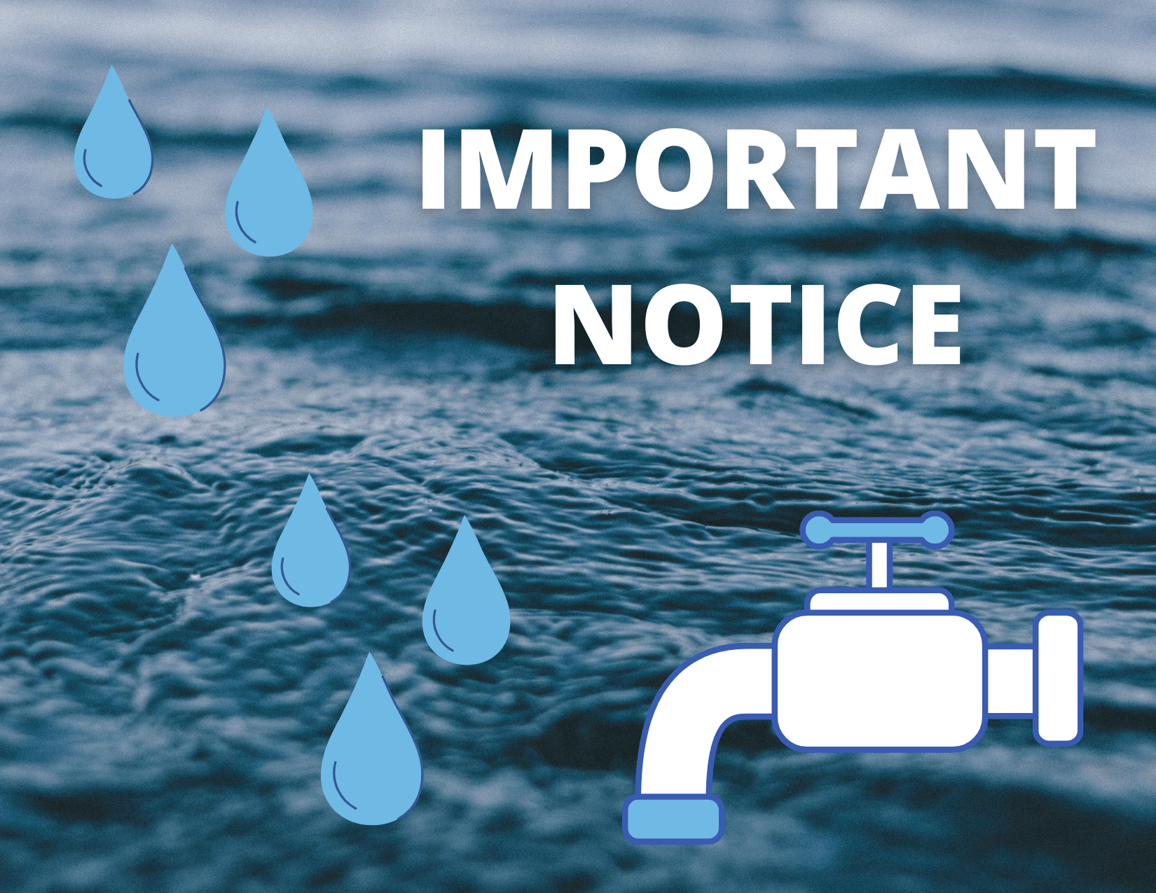 notice from lee county utilities for may 1 post