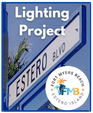 Estero Boulevard Lighting Project Logo